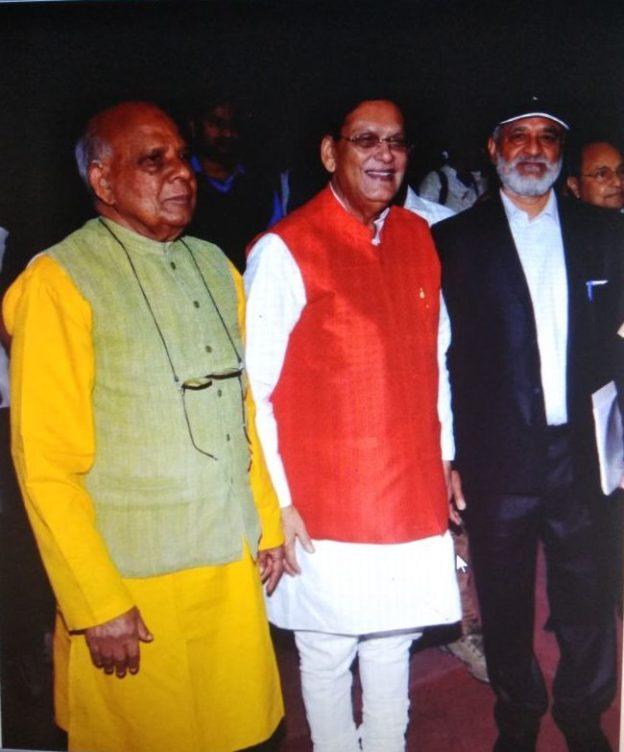 President with Dr Bindeshwar Pathak & Prof KI Vasu in the capital